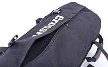 Сумка для кроссфита Sandbag FI-6232-1 40LB (PU, вес до 18 кг, 4 филлера для песка, черный), фото 3