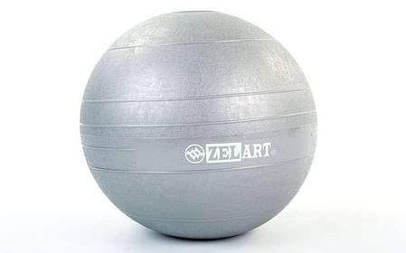 Мяч набивной слэмбол для кроссфита Record SLAM BALL FI-5165-9 9кг (резина, минеральный наполнитель, d-23см,, фото 2