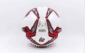 Мяч футбольный №5 PU ламин. BALLONSTAR FB-5414-1 (№5, 5 сл., сшит вручную), фото 2