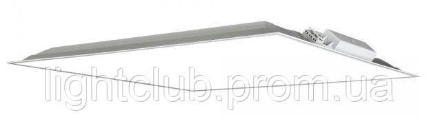 LED панель светодиодная 5000К 27вт 3300лм. 595x595 IP20 матовый