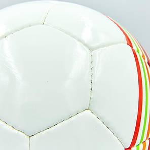 Мяч футбольный №5 PU ламин. BALLONSTAR FB-5415-3 (№5, 5 сл., сшит вручную), фото 2
