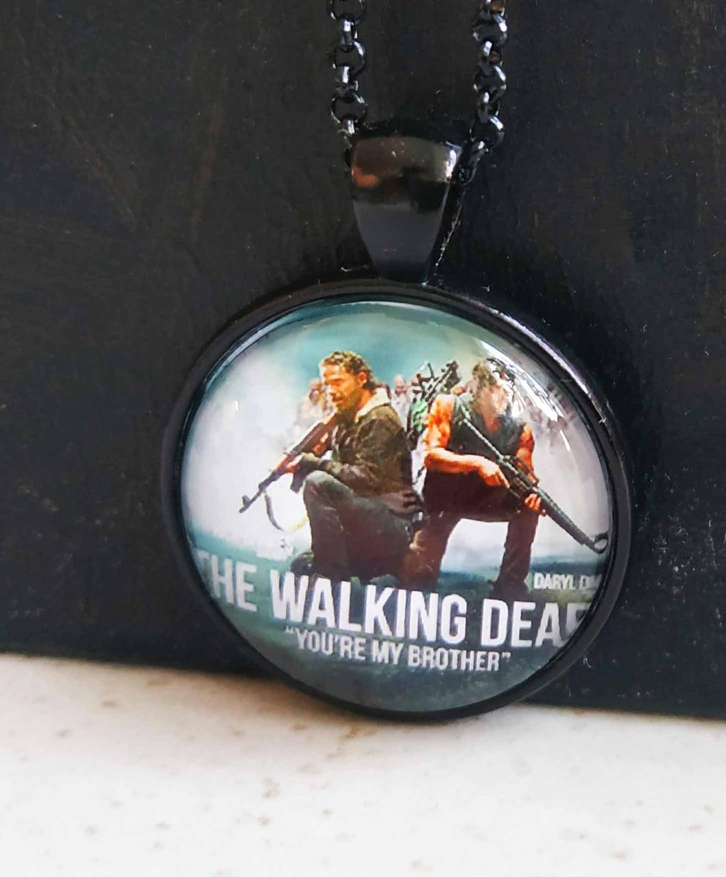 Кулон Ходячие Мертвецы/ The Walking Dead Рик и Дерил