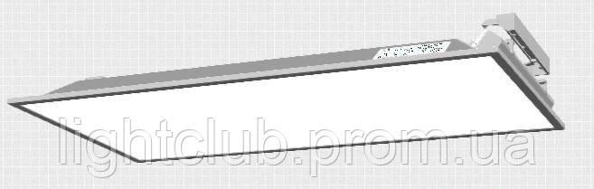 LED панель светодиодная 3000К 27вт 3300лм. 595x294 IP20 матовый