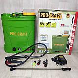 Опрыскиватель садовый аккумуляторный Procraft AS-12 литров, фото 2