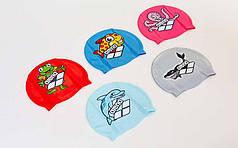 Шапочка для плавания детская ARENA MULTI JUNIOR WORLD CAP 5 AR-91388-20 (силикон, цвета в ассортименте)