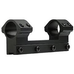 """Крепление-моноблок на оружие Beeman FTMA086L (1"""", 11мм), низкое крепление"""