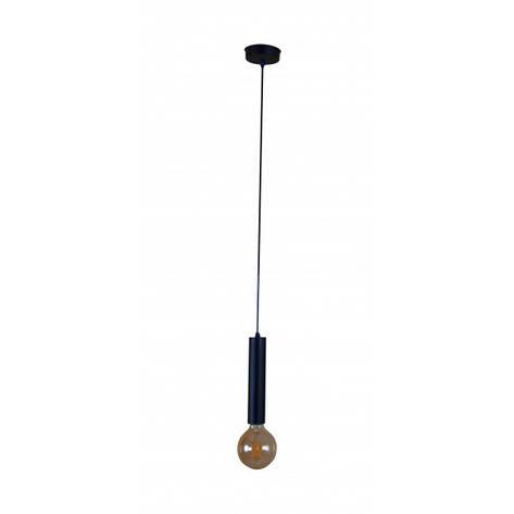 Люстра Tubo mini black, 1xE27, фото 2