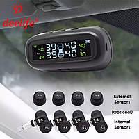 Система контроля давления и температуры в шинах TPMS внешние датчики