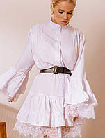 Платье с кружевным декором. Женская одежда. Весенняя коллекция одежды РАЗНЫЕ ЦВЕТА