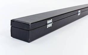 Кейс для кия KS-400 (р-р 81x6x4см, PVC, полиэстер, черный), фото 3