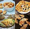 Сэндвичница 1200w 4в1 Grandhoff GT-779, со съемными формами, сендвичница, вафельница, тостер, орешница, гриль, фото 4