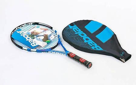 Ракетка для большого тенниса юниорская BABOLAT 140059-100 RODDICK JUNIOR 140 (голубой), фото 2