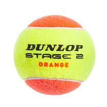 Мяч для большого тенниса DUNLOP (3шт) 602205 STAGE 2 (в вакуумной упаковке, салатовый), фото 3