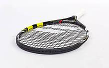 Ракетка для большого тенниса юниорская BABOLAT 140132-142 NADAL JUNIOR 23 (черный-желтый), фото 2