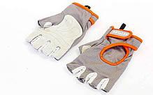 Перчатки для фитнеса KETTLER KTLR7370-093 размер XL серый-оранжевый, фото 2