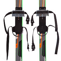 Лыжи беговые в комплекте с палками Zelart SK-0881-90B (l-лыж-90см,l-палки-70см,PVC чехол,крепление, фото 3