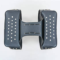 Мотосумка (2 кофра) H20 (PVC, р-р 56x32x20см, черный), фото 2