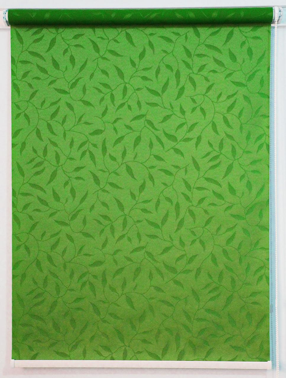 Рулонна штора Натура Зелений