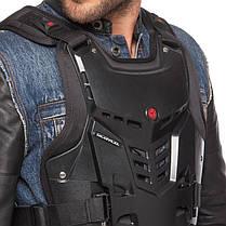 Жилет защитный для мотоциклиста SCOYCO Forward AM05 (PP, р-р M, L, XL регулируемый, черный), фото 3