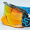 Мотоочки FOX MS-0297 затемненный визор (акрил, пластик, PL, эластан, цвета в ассортименте), фото 4