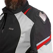 Мотокуртка текстильна із захистом NERVE 495-GR, фото 2