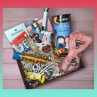 Подарочный набор девушке, подарочный бокс подарок к 8 марта, Дню Рождения, подарок женщине, к Новому году