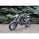 Мотоцикл Skymoto Cafe Racer200  (Двигатель, лицензия SUZUKI,  модель мелкосерийное производство), фото 5