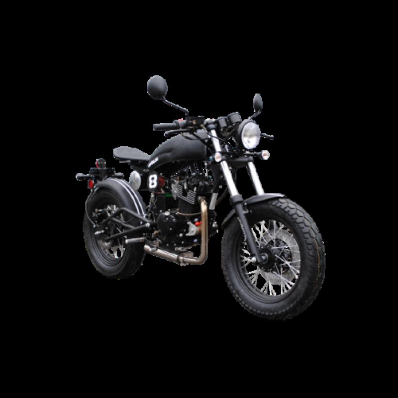 Мотоцикл Skymoto Cafe Racer200  (Двигатель, лицензия SUZUKI,  модель мелкосерийное производство)