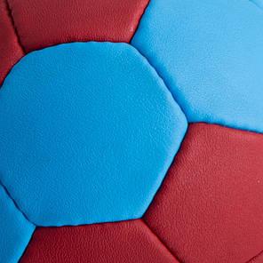 Мяч для гандбола CORE PLAY STREAM CRH-050-3 (PU, р-р 3, сшит вручную, синий-красный), фото 2