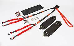 Тренажер для Банджи Фитнес 4D PRO TRAINER FI-7206 (ремни, ленты, рукоятки, удлинитель, дверное крепление, X-Mount)
