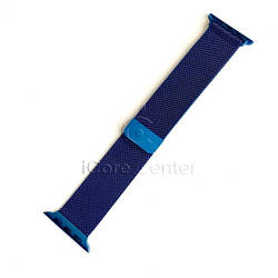 Ремешок Milanese Loop for Apple Watch 38/40mm Blue