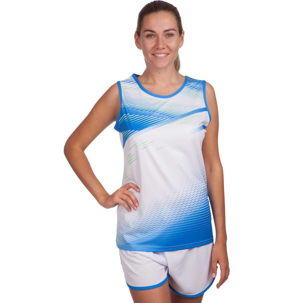 Форма для легкой атлетики женская LD-8312 (полиэстер, р-р S-3XL-145-175см, цвета в ассортименте)
