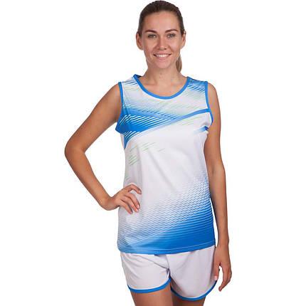 Форма для легкой атлетики женская LD-8312 (полиэстер, р-р S-3XL-145-175см, цвета в ассортименте), фото 2