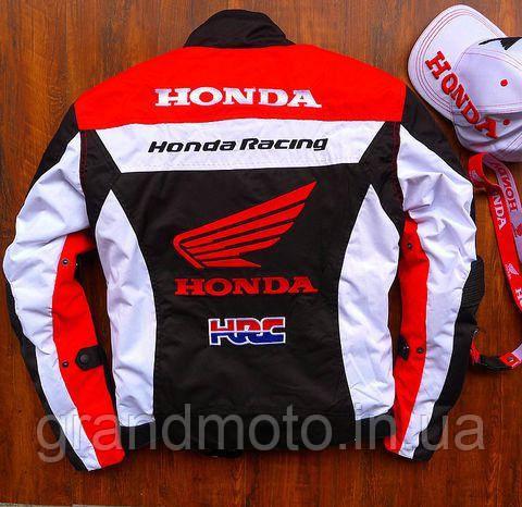 Мотокуртка текстильна Honda Racing Team з захистом