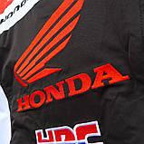 Мотокуртка текстильна Honda Racing Team з захистом, фото 6