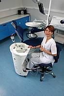 Медицинский столик Панок 4 овальный с акрилом Медаппаратура
