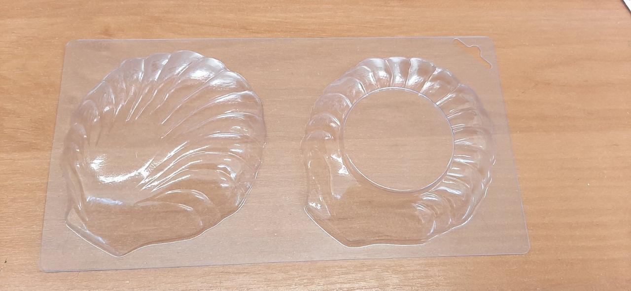 Форма для шоколада Ракушки, пластик