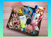Подарочный набор девочке, подарочный бокс подарок к 8 марта, Дню Рождения, подарок дочке, к Новому году
