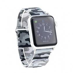 Ремешок Milanese Loop for Apple Watch 38/40mm Military Gray