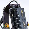 Фонарик налобный K28-T6 (пластик, 2 светодиода, линза, на аккумуляторе, черный), фото 4
