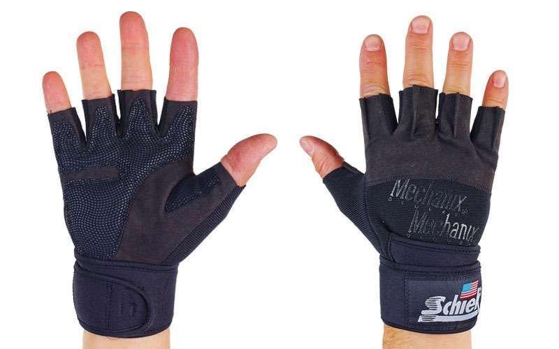 Перчатки для тяжелой атлетики SCHIEK BC-4928 размер M-XL цвета в ассортименте