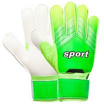 Перчатки вратарские 920 SPORT (PVC, р-р 8-10, цвета в ассортименте), фото 2