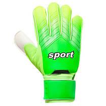 Перчатки вратарские 920 SPORT (PVC, р-р 8-10, цвета в ассортименте), фото 3