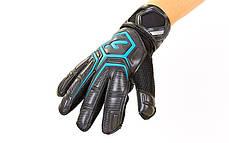 Перчатки вратарские с защитными вставками на пальцы STORELLI FB-905 (PVC, р-р 8-10, цвета в ассортименте), фото 3