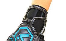 Перчатки вратарские с защитными вставками на пальцы STORELLI FB-905 (PVC, р-р 8-10, цвета в ассортименте), фото 2