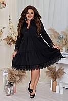 Платье нарядное с кружевом 0023  - 42-44,44-46, 48-50,50-52