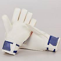Перчатки вратарские FB-0187-2 PARIS SAINT-GERMAIN (PVC, р-р 8-10, синий-красный), фото 3