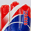 Перчатки вратарские FB-0187-2 PARIS SAINT-GERMAIN (PVC, р-р 8-10, синий-красный), фото 4