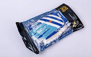 Перчатки вратарские с защитными вставками на пальцы FB-893 (PVC,р-р 8-10, цвета в ассортименте), фото 3