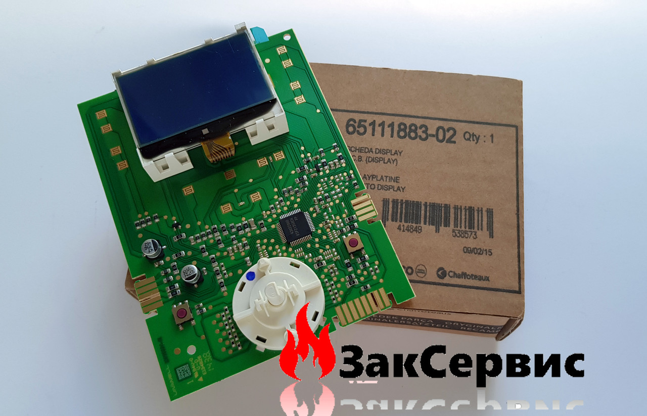 Плата дисплея на газовый котел Ariston CLAS EVO 65111883